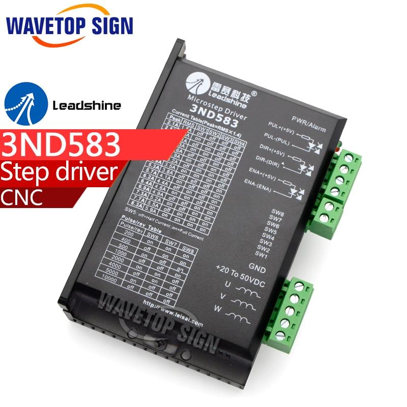 все цены на Original Leadshine driver 3ND583 3-phase laser machine parts cnc router Fitting cnc router machine parts онлайн