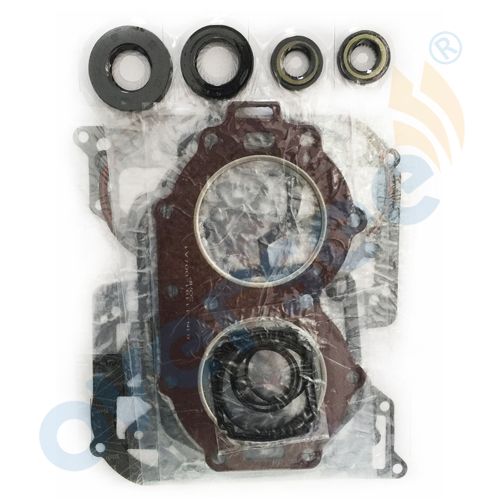 OVERSEE 61T-W0001-02 Gasket Kit Fitting for Yamaha Parsun Hidea Powertec Outboard 30 Hp Outboard Engine boat motor t85 04000005 reverse gear for parsun outboard engine 2 stroke t75 t85 t90 free shipping