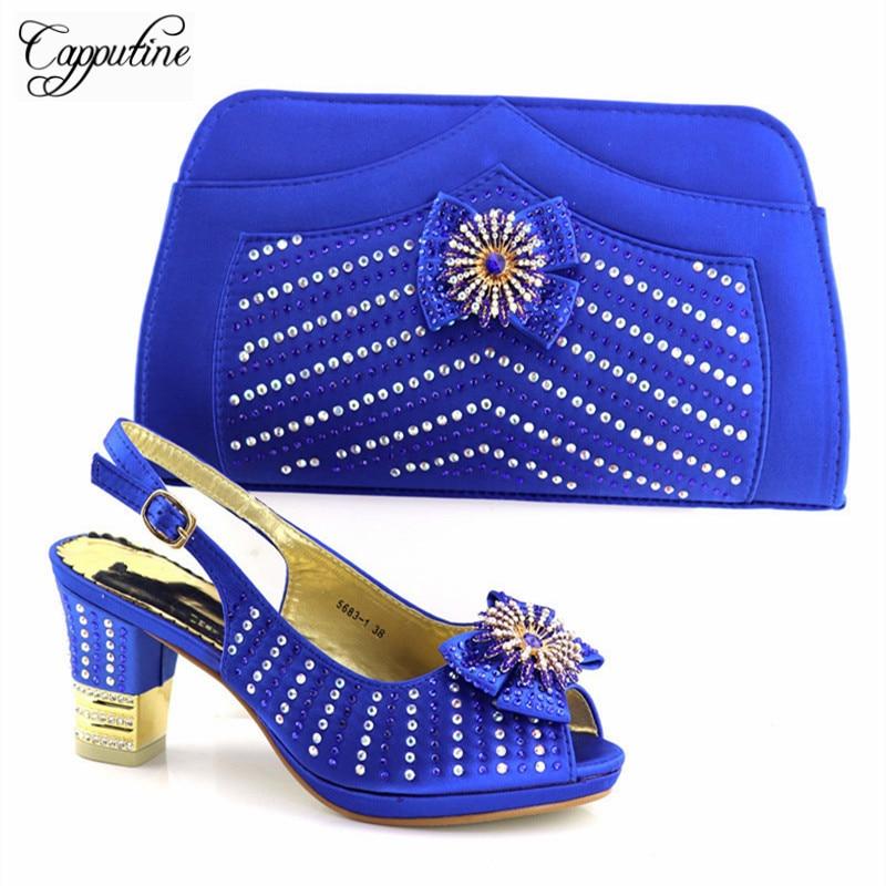 Africain Bleu Capputine Partie Mode lake Vente Chaussures rouge 2018 Green Tx Talons De Chaude Haute Arrivée 5681 Avec Dames Ensemble Sac Pour Nouvelle Et peach RT1qRr7