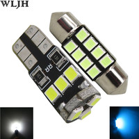 11pcs Canbus 2835 SMD Interior Led Car Dome Map Door Trunk Glove Box License Plate Light