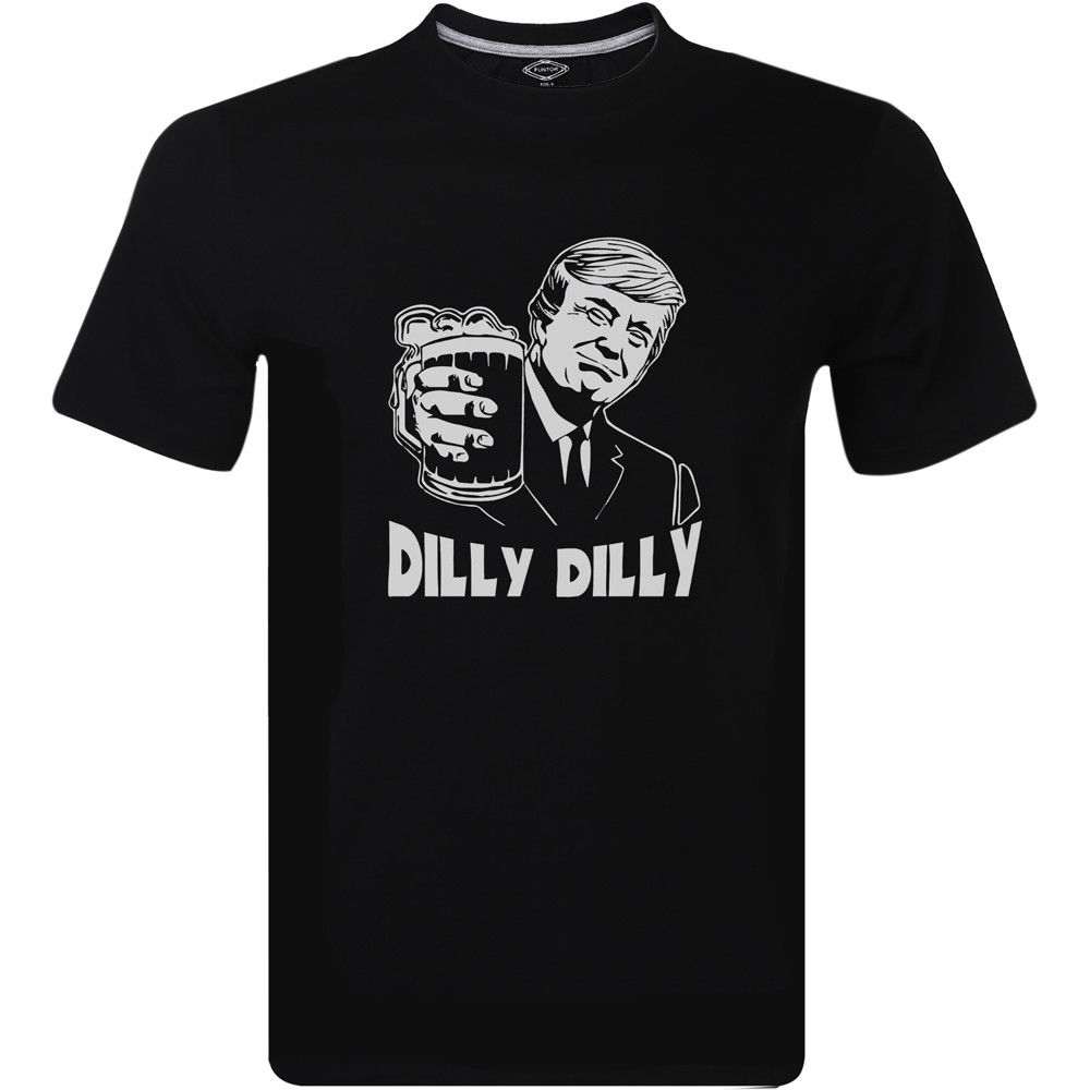 MENS Tee shirt Donald John Trump Dilly Dilly Mens Design Inspired T-Shirt Tee shirt s Tops Clothing ...