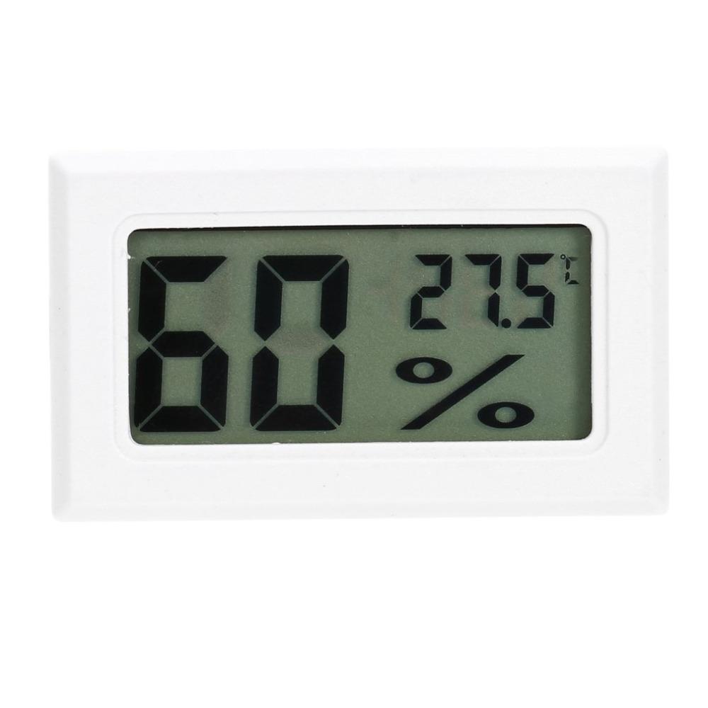 Professionnel mini digital lcd thermomètre hygromètre humidité mètre de la température intérieure numérique lcd affichage capteur