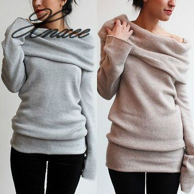 Thin product Women Autumn Winter Loose Long Sleeve New Fashion Pullovers Thin Jumper
