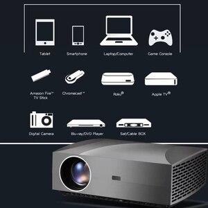 Image 4 - Touyinger f30 1080p completo projetor hd 5500 lumens 1920x1080 resolução led f30up projetor para o beamer vídeo de cinema em casa 3d hdmi