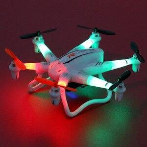 Image 3 - Faltbare drone WiFi UAV Sechs achse fernbedienung Mini flugzeug Tragbare 2 millionen HD Kamera Gyroskop Mit Beleuchtung
