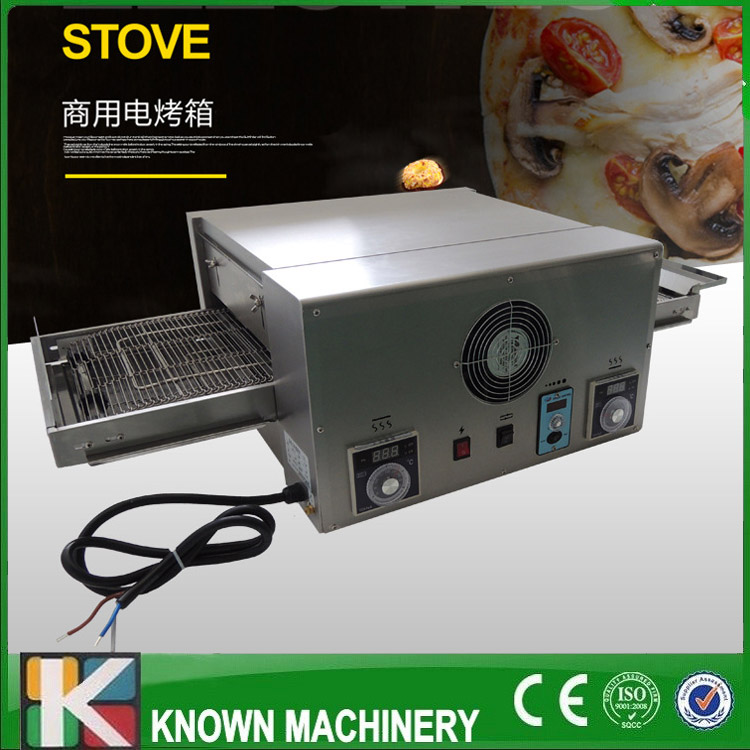 Crawler pizza oven KN--12 chain oven Food baking equipment Pizza oven Oven pizza group ir42 vs