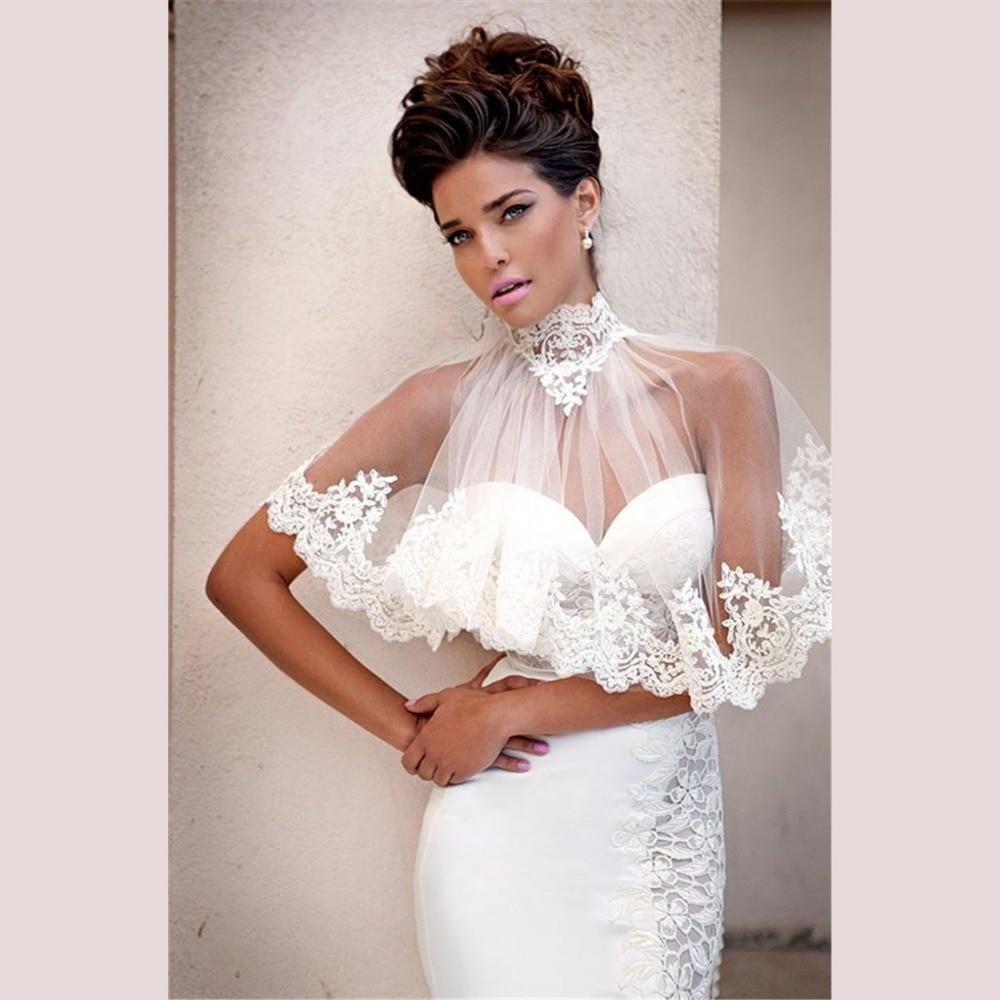 Wedding Wedding Jackets aliexpress com buy ivory lace wedding bolero jackets wraps shawls bridal jacket girls occasion bridal