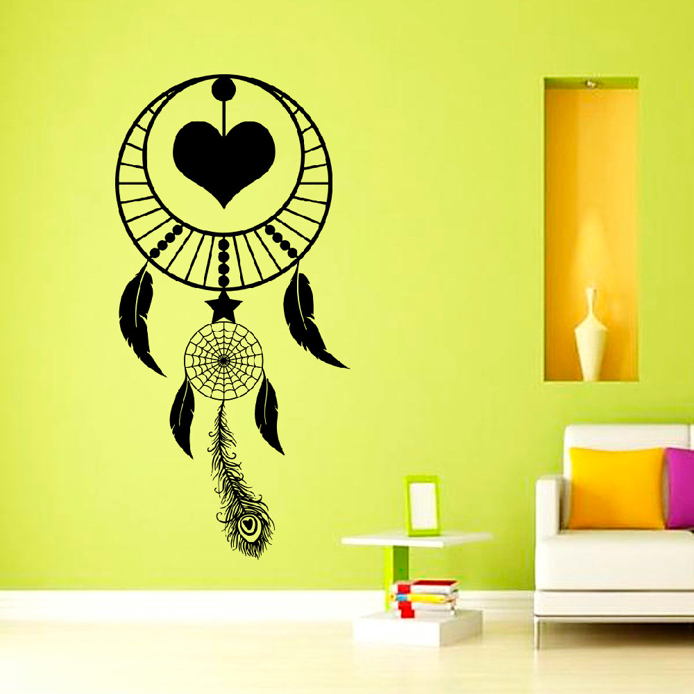 high quality religious wall murals buy cheap religious wall murals dctop high quality dreamcatcher feathers symbol wall sticker bedroom decoration pvc art religious murals china
