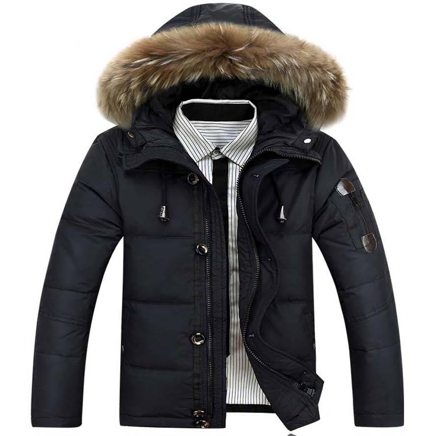 white duck   down   Men 's jackets 2017 winter new fashion   coats  ,overcoat,outwear,parka,trench M-XXXL