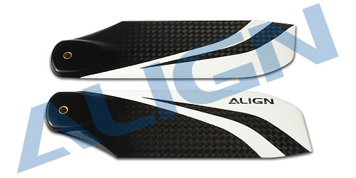 Align Trex 106 Carbon Fiber Tail Blade HQ1060A Trex 700 Spare Parts  Free Shipping with Tracking align trex 360 carbon fiber blades blue hd360b trex 450 spare parts free shipping with tracking