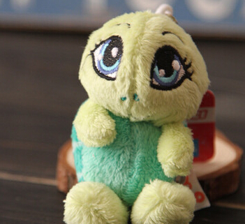 Nici turtle 10cm doll plush chain ring pendant education toys kids yx104 - Funny Toys store