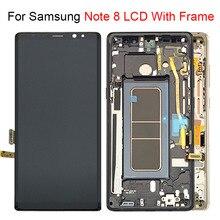 לסמסונג גלקסי הערה 8 LCD תצוגת מסך עם מסך מגע Digitizer עצרת להחליף 100% נבדק