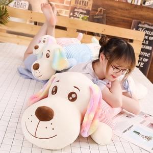 New 1pc 50cm/70/90cm/110 Cm Colorful Long Ears Plush Toys Soft Kawaii Dog For Kids Baby Lovely Doll Stuffed Pillow Birthday Gift