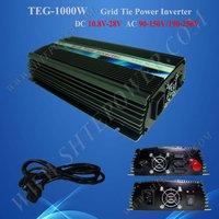 1000w grid tie solar inverter dc to ac 1kw grid tie inverter 220v 24v grid tie inverter