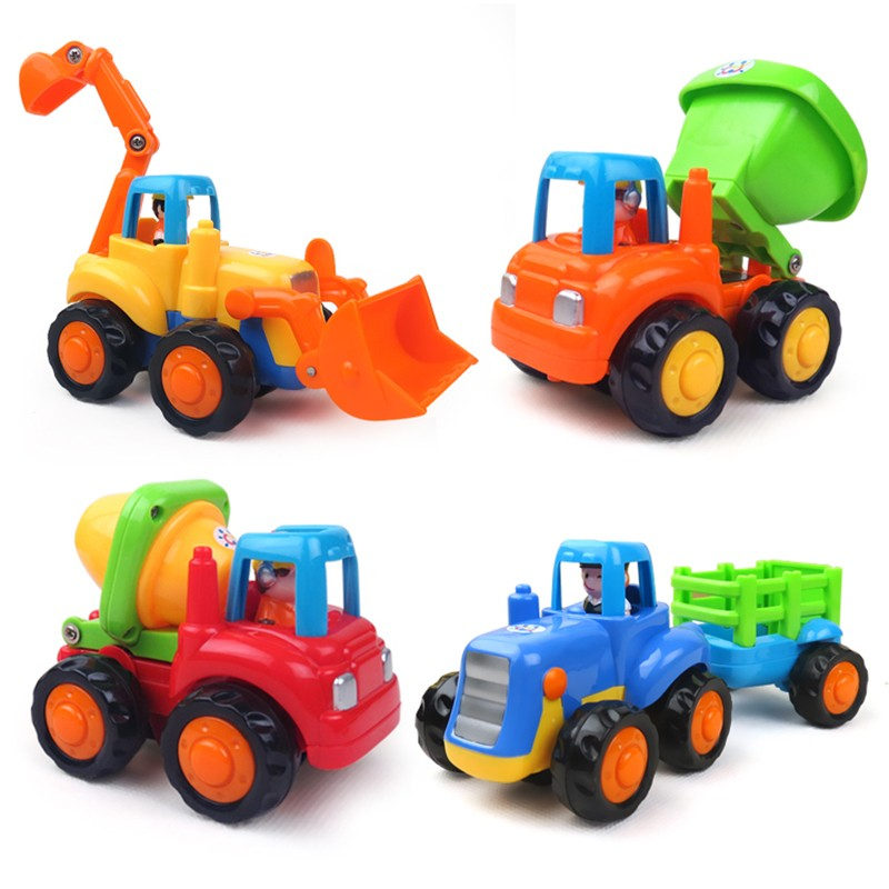 Tractor Toys For Boys : New pcs durable high quality best toy set truck