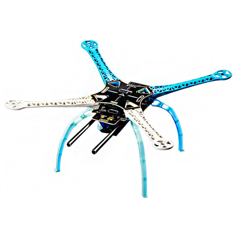 S500 Quadcopter Multi-Rotor PCB Frame Kit with Landing Gear Upgrade F450 PCB Frame Kit Version Drone parts fs2011 nuclear radiation detector tester radioactive particles geiger counter personal dose alarm chinese and english system