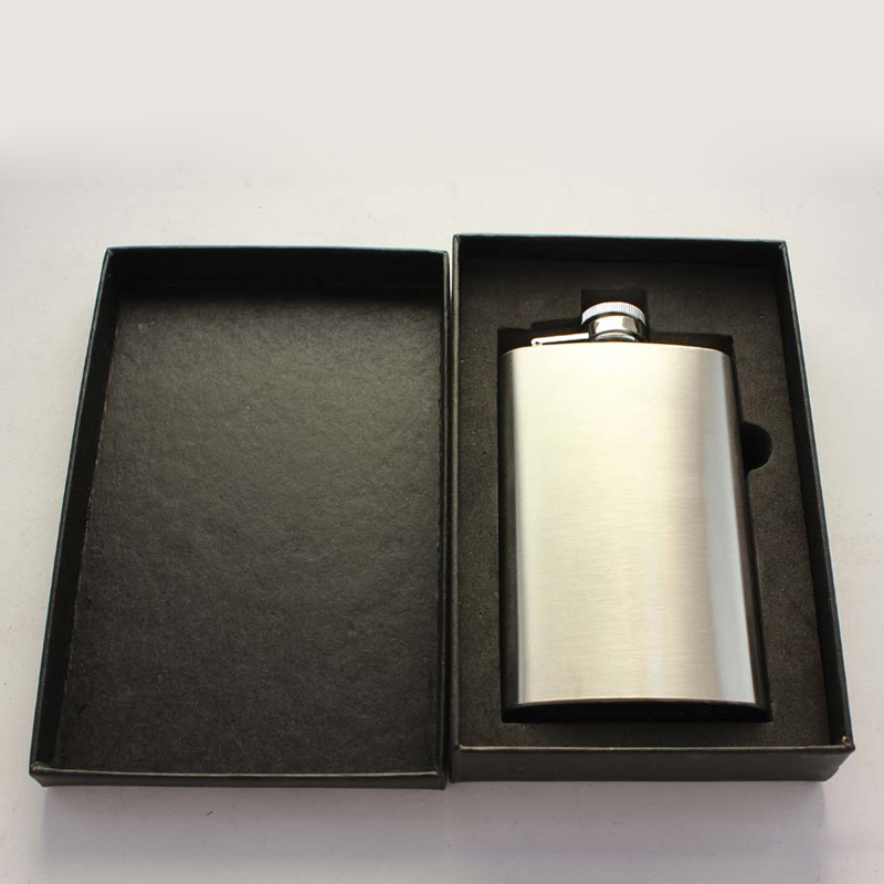 5oz Stainless Steel Hip Flask Alcohol Whisky Flagon Business Gifts Set Portable Pocket Hip Flask Personalized