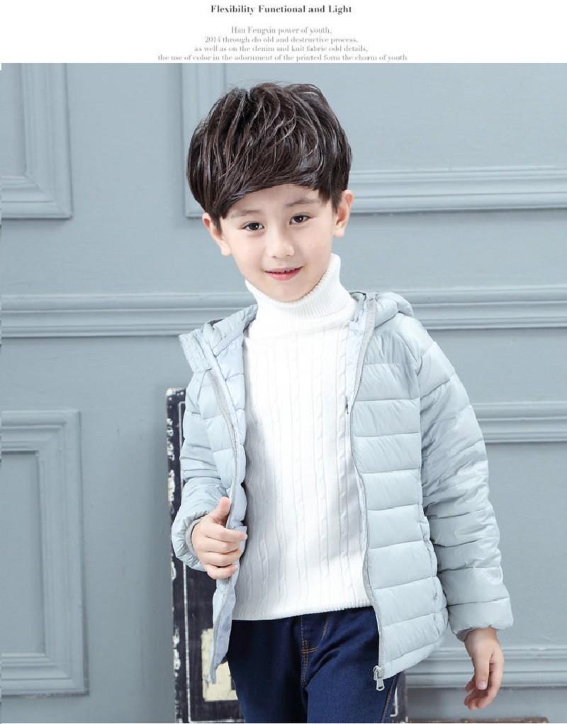 winterjas jongen