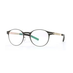 Image 3 - Wysokiej jakości unikalna konstrukcja IC markowe okulary rama mężczyźni i kobiety ultralekkie ultracienkie oprawki do okularów okulary na receptę