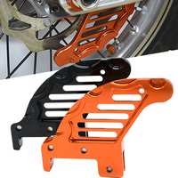 Motorcycle CNC Aluminum Rear Brake Disc Guard Protector Cover Modified Accessory For KTM 450 SX F 450 XCW 505 SX F 2007 2014
