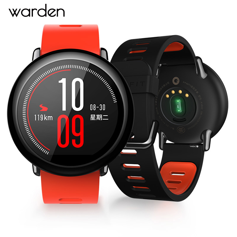 Warden Huami Smart Sports Watch GPS Zirconia Ceramics Smartwatch 1.34 inch 320x300 Sport BlueTooth Music Waterproof Smart watch smart baby watch q60s детские часы с gps голубые