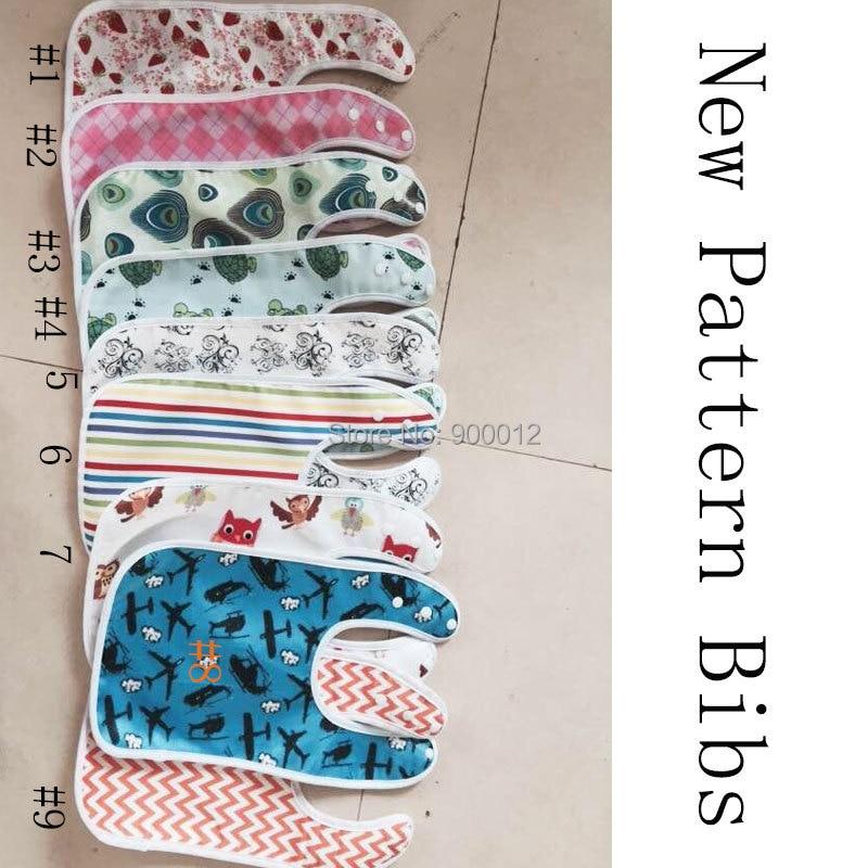 300 st Färgglada mönster Bebisar Bebis vattentäta barn Söt saliv - Blöjor och potträning