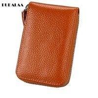 Card Bag Large Capacity Simple Lychee Skin Orga Pocket Fashion Unisex Budalaa New Bags Hot