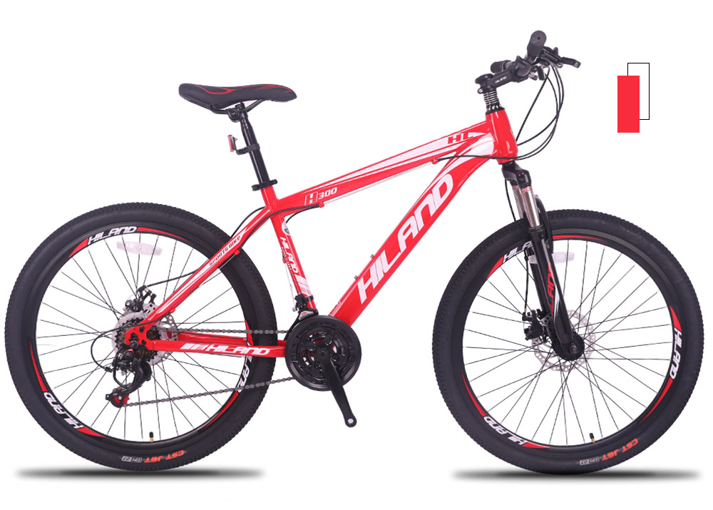 21 / 27 Speed Mountain Bike Bicycle 26 inch steel or aluminum frame red and black aviliable MTB free shipping