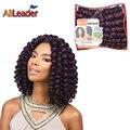 Havana Mambo Twist Crochet Jumpy Wand Curl Braids Hair 20 Roots/pack Jamaican Bounce Twist Hair Extension Crochet Braids Curly