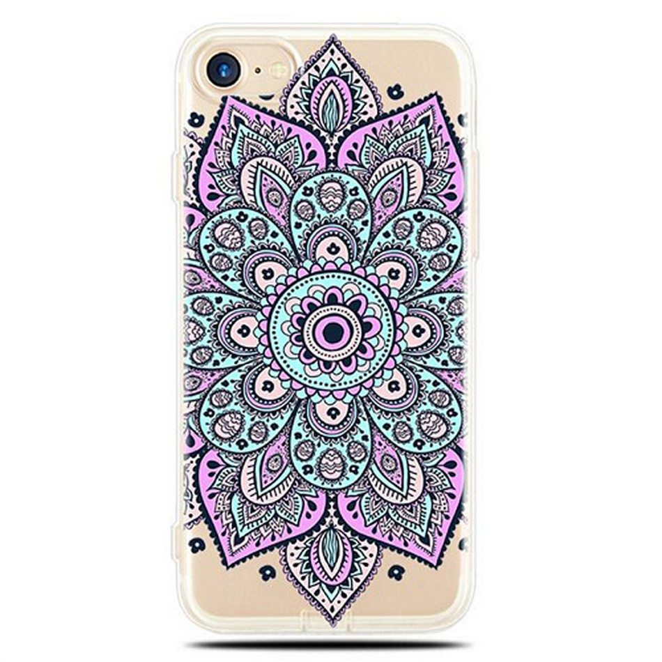 Datura-Flower-Pattern-Phone-Cases-for-iPhone-5-5S-SE-6-6S-7-Plus-Soft-Silicon