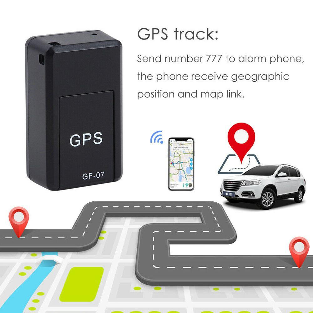 Unterhaltungselektronik Fein Gf-07 Ultra Mini Auto Gps Tracker Auto Lange Standby Magnetische Tracking Gerät Für Fahrzeug Auto Hund Person Sos Gps Locator Tragbare Geräte