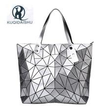 2018 Fashion Bao Women luxury Handbag Beach Hand Bags Hologram Shoulder Bag sac a main Messenger Clutch bolsa feminina Silver