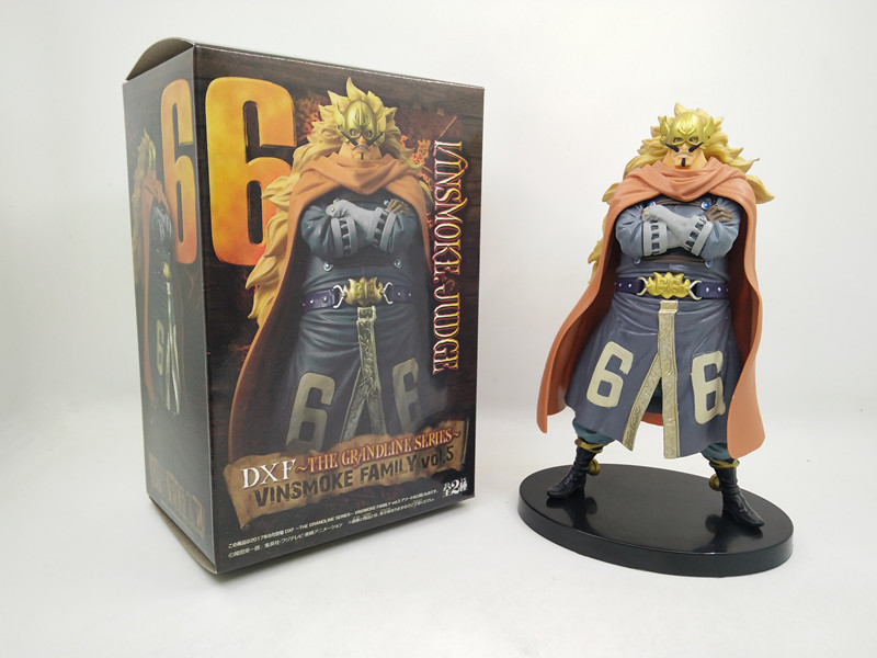 Tobyfancy One Piece Anime Vinsmoke.Judge PVC Action Figure DXF Onepiece Collection Model Toy