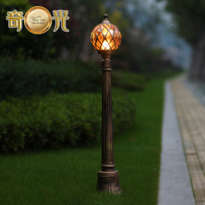 Bronze europe garden outdoor pathway lighting tennis shape bronze europe garden outdoor pathway lighting tennis shape waterproof lawn lamp post light fixture aluminum 220v aloadofball Images