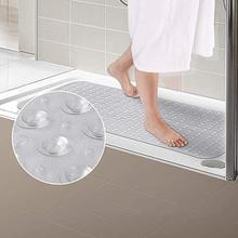 Алмазный длинный коврик для ванной комнаты ПВХ защитный коврик для ванной присоска Ванна Противоскользящий коврик 88x40 см