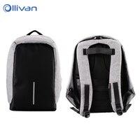 OLLIVAN USB Charging Travel Backpack 15inch Laptop Backpack Large Capacity Male Female Luggage Shoulder Bag Computer