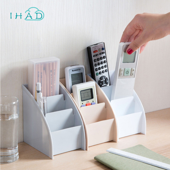 Office stationery box widely use desktop storage box pen holder small objects Container makeup organizer Remote control boxes makeup organizer box