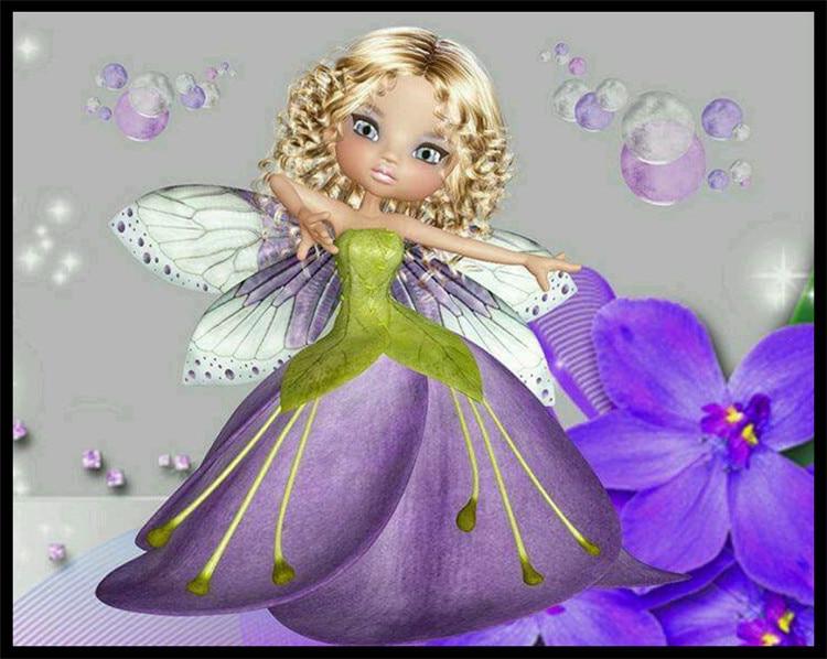 Needlework 5d diy diamond painting cross stitch diamond - Peinture princesse disney ...