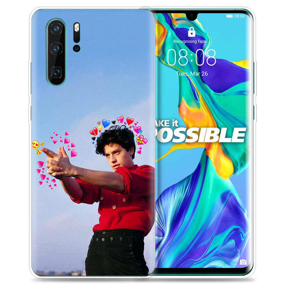 Case for Huawei P30 P20 P10 P9 Mate 10 20 Lite Pro Mobile Cell Phone Bag P Smart Z 2019 Plus Riverdale Cole Sprouse Jughead P8 P