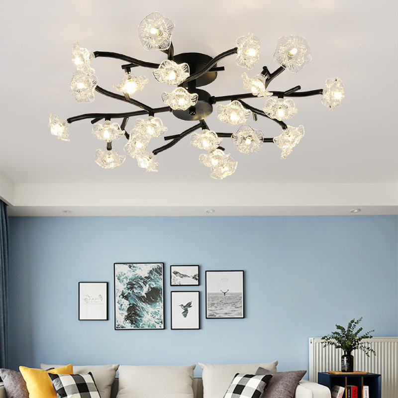 Modern LED Chandelier Lighting Contemporary Ceiling Home ...