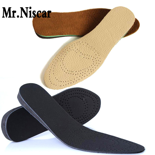 LEO Premium Women Men Comfortable Height Increasing Insole Orthotic Insoles Inserts High Arch Support Shoe pad