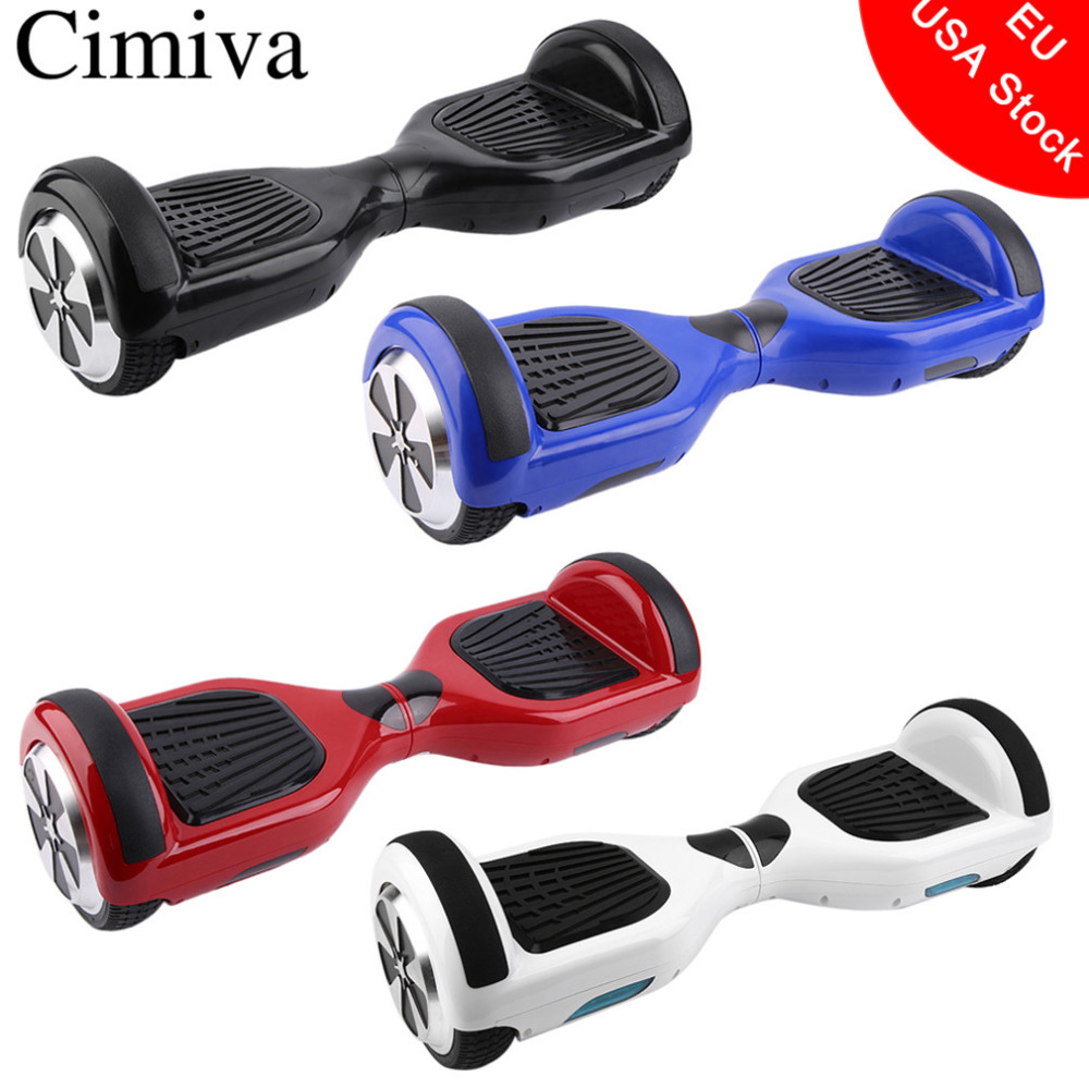 Cimiva 6.5 inch Self Balancing Scooter Smart Electric Skateboard 2 Wheels Giroskuter Balance Hover Board Oxboard scooter parts hover board motherboard scooter mainboard for 6 5 8 10 inch 2 wheels smart balance electric skateboard giroskuter