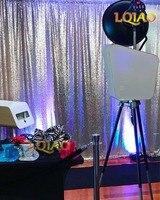 20ftx10ft шампанское фон с пайетками Шторы Свадебная фотокабина фотография для фона Ткань принадлежности для вечеринки, оптом
