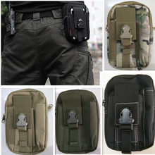 Tactical Molle Hanging Bags Men's Outdoor Sport Waist Pack Purse Mobile Phone Case for S/\MSUNG Note 2 3 4 1000D CORDURA