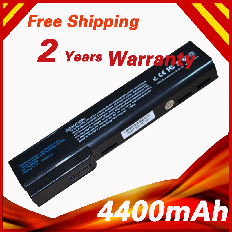 6 Cells Battery For HP QK639AA QK640AA QK642AA QK643AA ST09 6360T For EliteBook 8460p 8470p 8470w 8560p <font><b>8570p</b></font> 8570w 8760p 8760w image