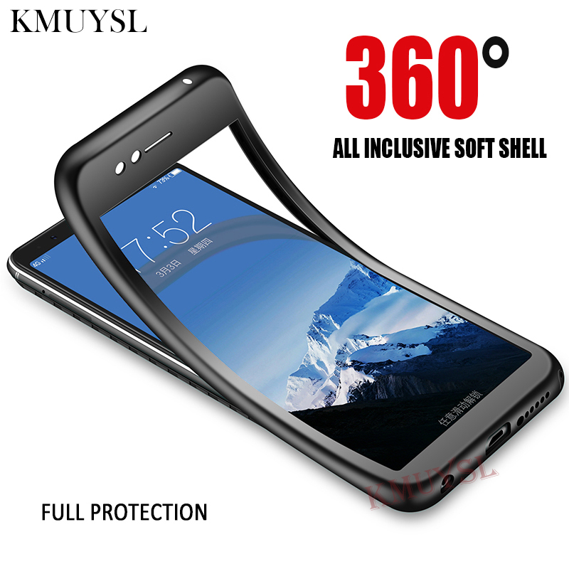 watch 2b747 b761b 360 Degree Full Cover Case For Xiaomi Mi A2 Lite Case Redmi Note 5A 6 Pro 5  Plus 4X 4A S2 Mi 8 SE 5X 6X Mi A1 Note 3 Phone Case