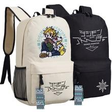 Hombres Mujeres Anime de Japón Digital Monster Digimon Adventure Tri Gabumon Hombro bolsa de Viaje Mochila Bolsa de La Escuela Bolsa de Libros