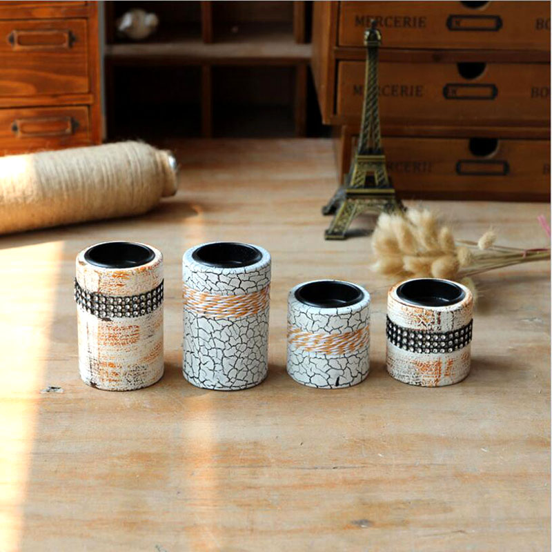 Online buy wholesale wooden candlestick from china