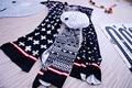 Мода Европа хорошее качество геометрическая проходимость звезды pattern вязание детские пеленание Новорожденного кондиционер одеяло