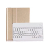 For IPad 9 7 New 2017 A1822 A1823 Wireless Bluetooth Keyboard Ultra Thin PU Leather ABS